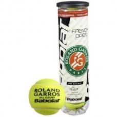 Babolat Мячи Теннисные Roland Garros x4 balls - Железная Банка (Грунт)